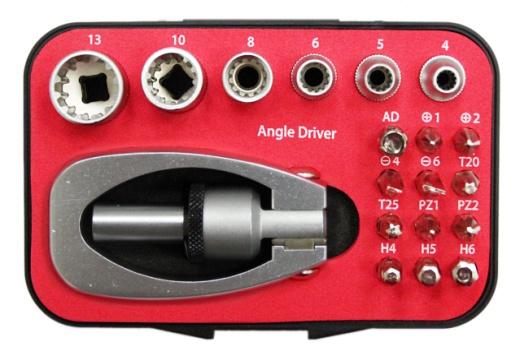 19 Pcs Multi-Angle Screwdriver Set