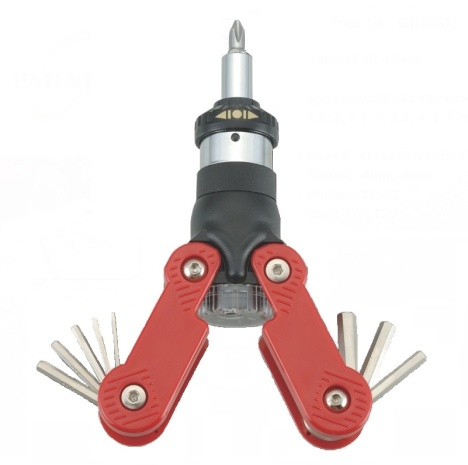 15 In 1 Ratchet Screwdriver with Hex Key Wrench