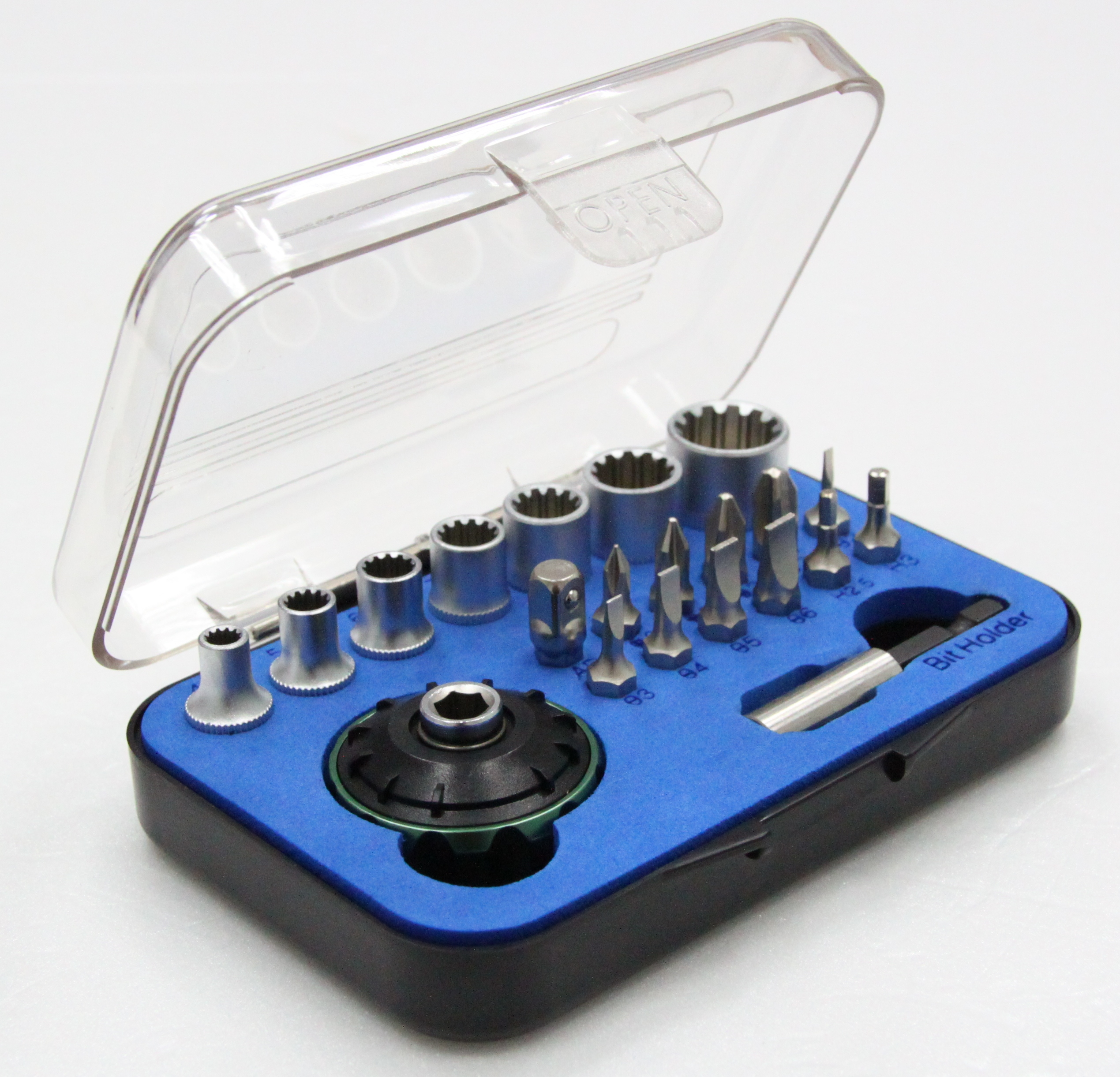 21 PCS 72 Teeth UFO Tool Set