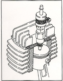 Micrometer Timing for 2 Stroke Engine