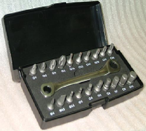 21PCS Wrench & Micro Bit Set