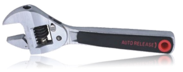 Auto-Release Adjustable Wrench