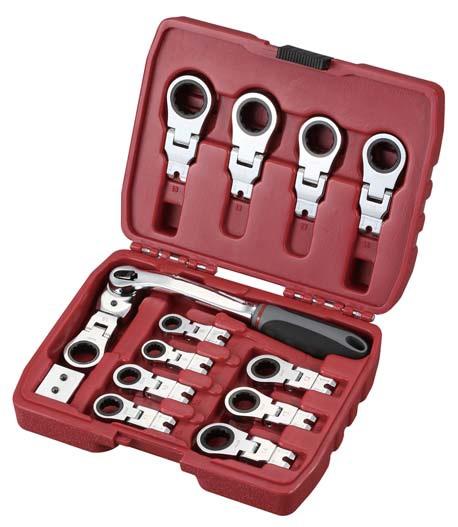 14Pcs 3D transformer tools - combination wrench set