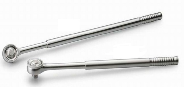 "3/4"" Telescopic Ratchet Handle with Quick Release"
