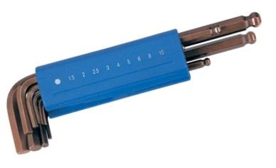 9Pcs Ball Point Hex Key Wrench Set