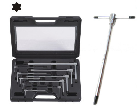 10Pcs 3Way Star Key Wrench Set