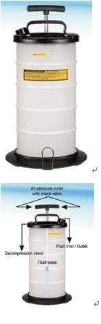 Hand Operation Fluid Extractor PAT.