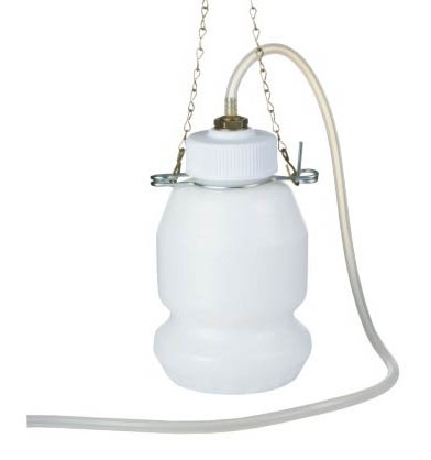 Non-Power Brake Oil Receiver with Chain Hanger