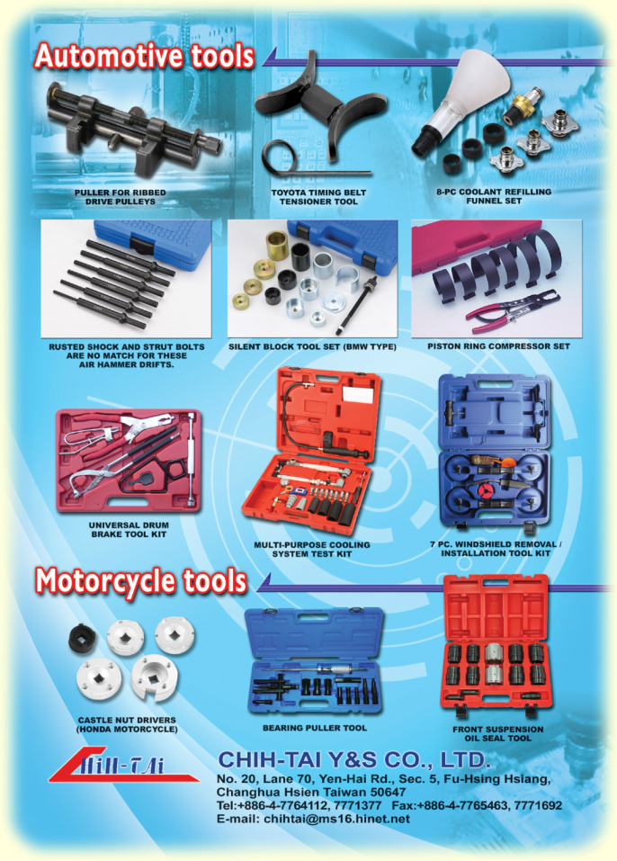 Automotive Tools Taiwan