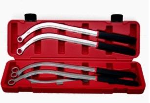 Damper Pulley Puller Holder Wrench Set